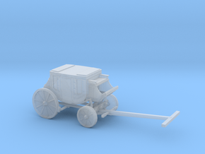 TT Scale Stagecoach in Smooth Fine Detail Plastic