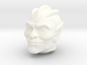 Tuvar Head VINTAGE in White Processed Versatile Plastic