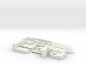 Mk2 - Large Caliper - Yard/Meter Stick Attachment in White Natural Versatile Plastic