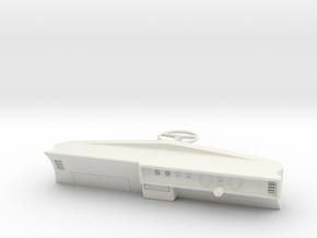 Trans Am 1971 Dash-Right Hand Drive 1/10 Scale RC in White Natural Versatile Plastic