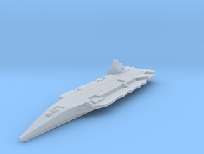 Near future stealth carrier in Smooth Fine Detail Plastic