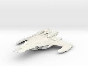 Dominion Battleship 1/7000 in White Natural Versatile Plastic