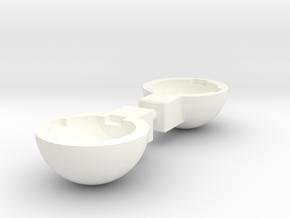 Tbb003-01 Tyco Bandit Housing x 2 in White Processed Versatile Plastic