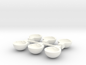 Tbb003-03 Tyco Bandit Housing x 6 in White Processed Versatile Plastic