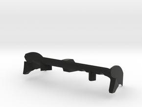 Raptor-Aile-AR-ev4 in Black Natural Versatile Plastic