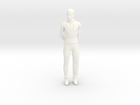 Lost in Space - 1.35 - Dr Smith Casual in White Processed Versatile Plastic