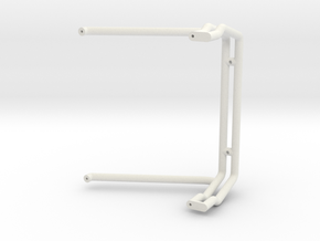 Tamiya Clod Body Aces High Roll Bar in White Natural Versatile Plastic