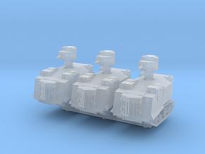 NI Odessa Tank (x3) 1/200 in Smooth Fine Detail Plastic