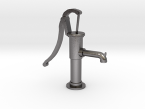 S1-239 Handschwengelpumpe  in Polished Nickel Steel
