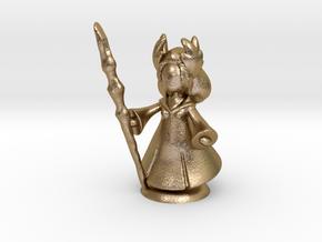 FantasyMinions S1 - FF XIV Kan-E-Senna in Polished Gold Steel