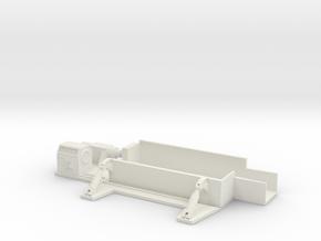 Car Crusher 1/48 in White Natural Versatile Plastic