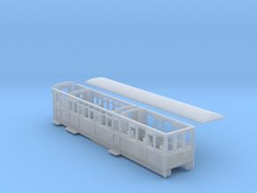 Ffestiniog Rly barn observation coach NO.101 in Smooth Fine Detail Plastic