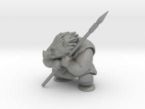 Dragon Quest Orc King 50mm DnD model fantasy games in Gray PA12
