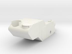 MKI Steamer Tank Body in White Natural Versatile Plastic
