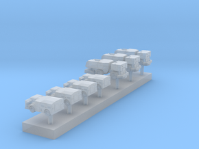 1:350 70s&80s US Carrier Scrubbers and Starters in Smooth Fine Detail Plastic