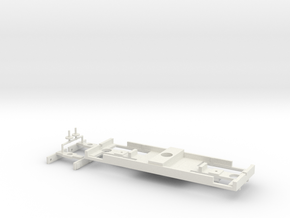 TOMY-Trackmaster Express Coach Conversion Base in White Natural Versatile Plastic