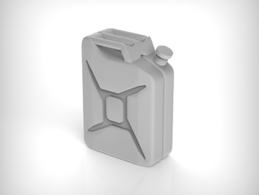 Jerry Can 01.1:48 Scale in Smooth Fine Detail Plastic