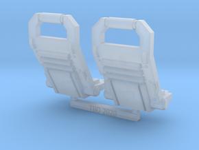 Impulsor front grav plate X2 - Sprue in Smoothest Fine Detail Plastic