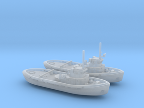 051C Project 498 Tug 1/700 Set of 2 in Smooth Fine Detail Plastic