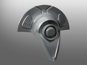 Vexima pattern Head in Smooth Fine Detail Plastic: Small