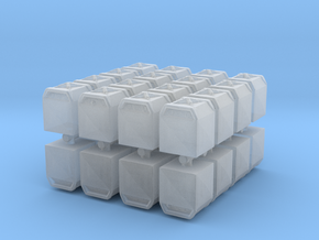 Glass Recycling Container (x32) 1/400 in Smooth Fine Detail Plastic