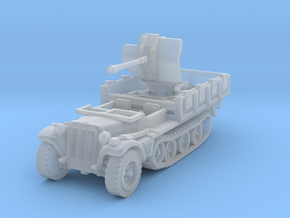 Sdkfz 10/4 B Flak 38 1/220 in Smooth Fine Detail Plastic