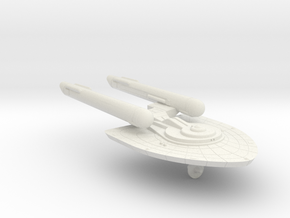 3125 Scale Federation New Fast Light Cruiser WEM in White Natural Versatile Plastic