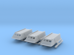 1/172 TOS Shuttle Craft with Landing Gear in Smooth Fine Detail Plastic