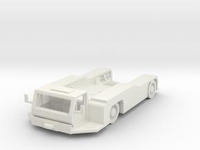 Goldhofer AST-1 L Tractor 1/87 in White Natural Versatile Plastic