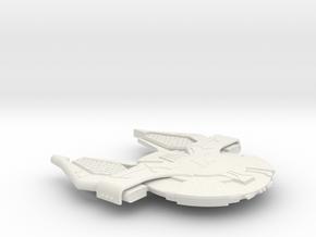 3125 Scale Andromedan X-Ship X-Conquistador SRZ in White Natural Versatile Plastic