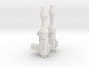 TF TR Legends BumbleBee Blaster 2 Pack in White Natural Versatile Plastic