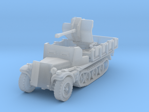 Sdkfz 10/4 B Flak 38 Armoured 1/160 in Smooth Fine Detail Plastic