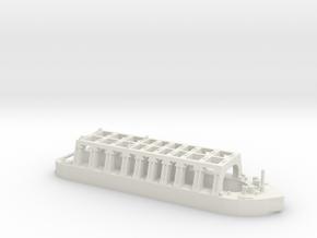 Dock for submarine 1:1250 in White Natural Versatile Plastic