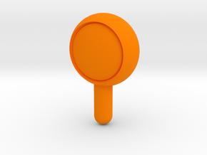 Roof top light in Orange Processed Versatile Plastic