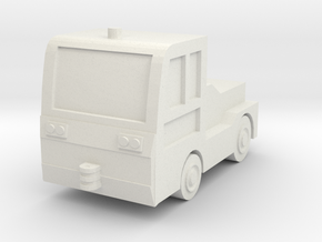 TLD JET-16 Tow Tractor 1/56 in White Natural Versatile Plastic