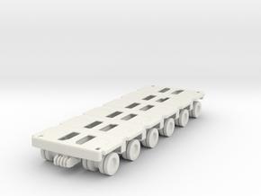 Goldhofer SPMT Modular Trailer 1/64 in White Natural Versatile Plastic