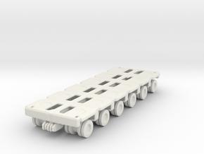 Goldhofer SPMT Modular Trailer 1/160 in White Natural Versatile Plastic