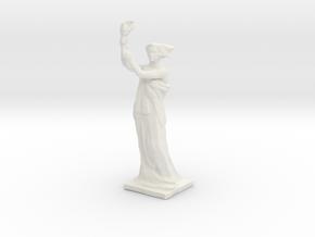 """""""Goddess of Democracy"""" Statue Replica in White Natural Versatile Plastic"""