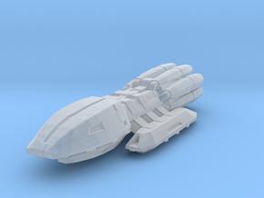 Colonial Battlestar Pegasus in Smooth Fine Detail Plastic