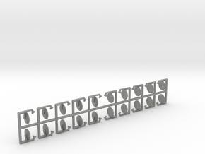Satelittenschüsseln 60 cm - 1:87 (H0 scale) in Gray PA12