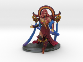 Lina in Glory of the Elderflame Set in Natural Full Color Sandstone