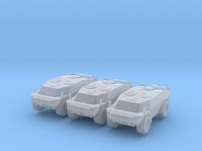 LGS Fennek APC (x3) 1/220 in Smooth Fine Detail Plastic