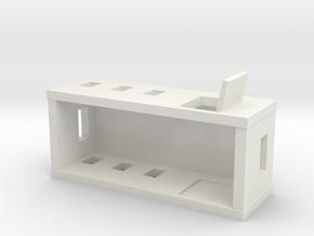 House in White Natural Versatile Plastic