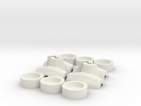 HO/1:87 Core-loc 3m mould kit in White Natural Versatile Plastic