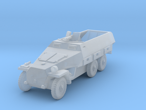 Sdkfz 251/1 D Wheeled 6 Rad 1/144 in Smooth Fine Detail Plastic