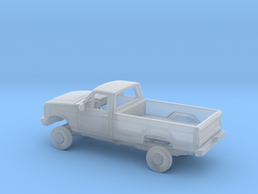 1/160 1987-91  Ford F Series Reg.Cab Reg.Bed Kit in Smoothest Fine Detail Plastic