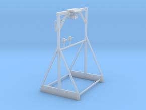 1/50th Mar Hook Log Trailer Hoist Crane in Smooth Fine Detail Plastic