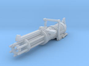 Z-6 rotary blaster cannon 3.75 scale in Smooth Fine Detail Plastic