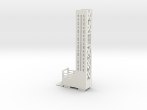 Lost in Space Launch Scaffold 1 - POLAR Lights in White Natural Versatile Plastic