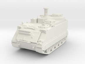 M113 German BeobPzArt 1/144 in White Natural Versatile Plastic